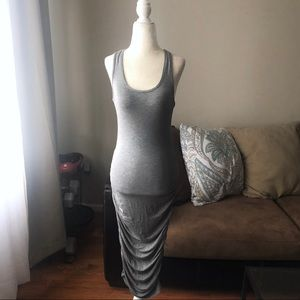 Dresses & Skirts - Grey midi tank dress